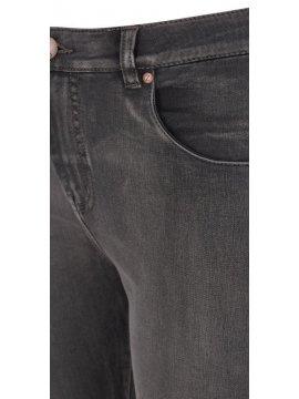 Jean slim Amy, anthracite, marque Zizzi zoom poche