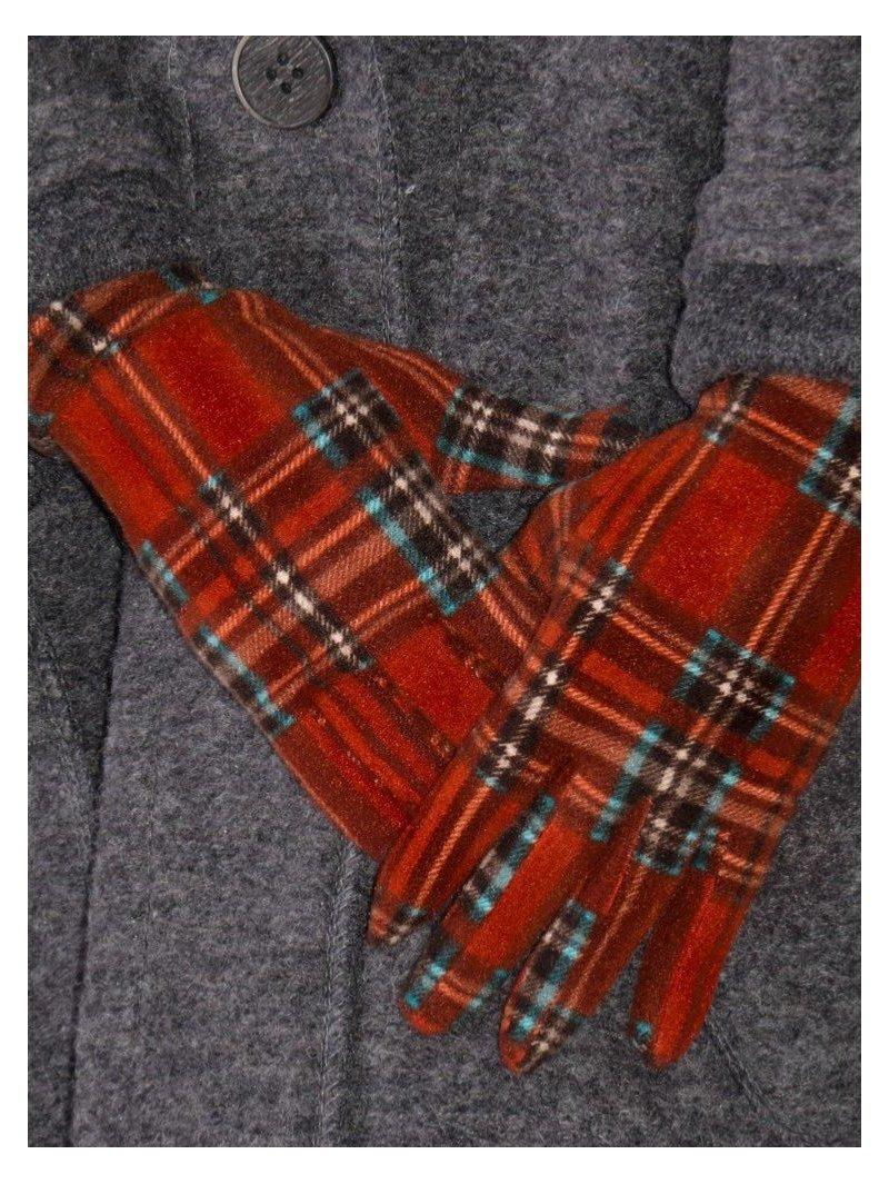 Gants femme, originaux et chauds, marque Ixli Horse fairy red avant