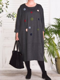 Charline, robe sweat originale