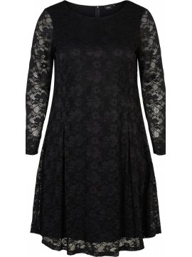 Anita, robe dentelle, Zizzi noir devant
