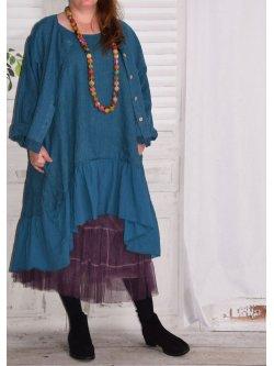 Aurore, robe en lin bohème