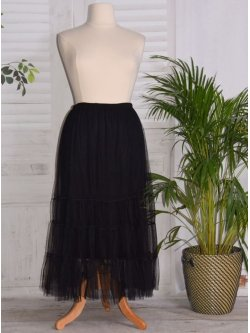 Lisa, jupon long en tulle