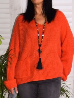 Pull en maille,  marque Lagenlook modèle Lucy