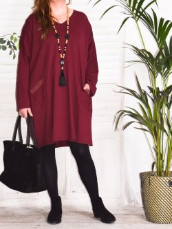 Melissa, robe en sweat