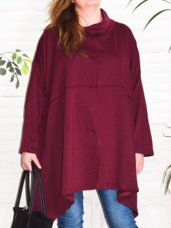 Christina, tunique grande taille Lagenlook,