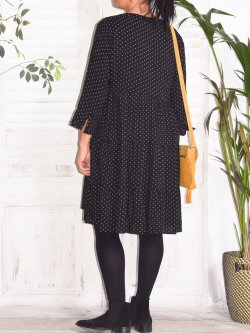 Robe Alison, marque Christy - noir