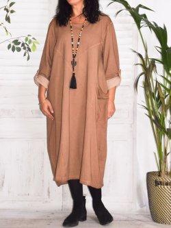 Sandra, robe originale, Lagenlook