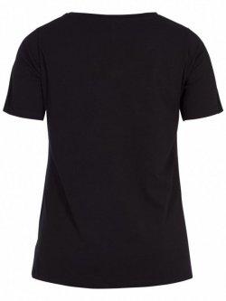 T-shirt l'indispensable, marque  Zizzi - noir