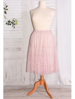 Lara, jupon en tulle - rose