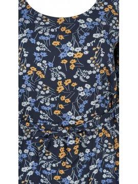 Lola, robe fleurie, marque Zizzi zoom