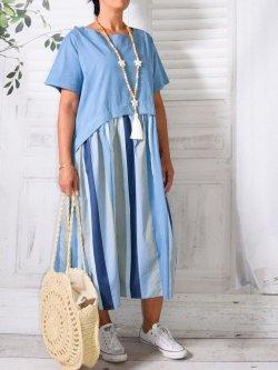 Coraline,  originale robe Provencal Days