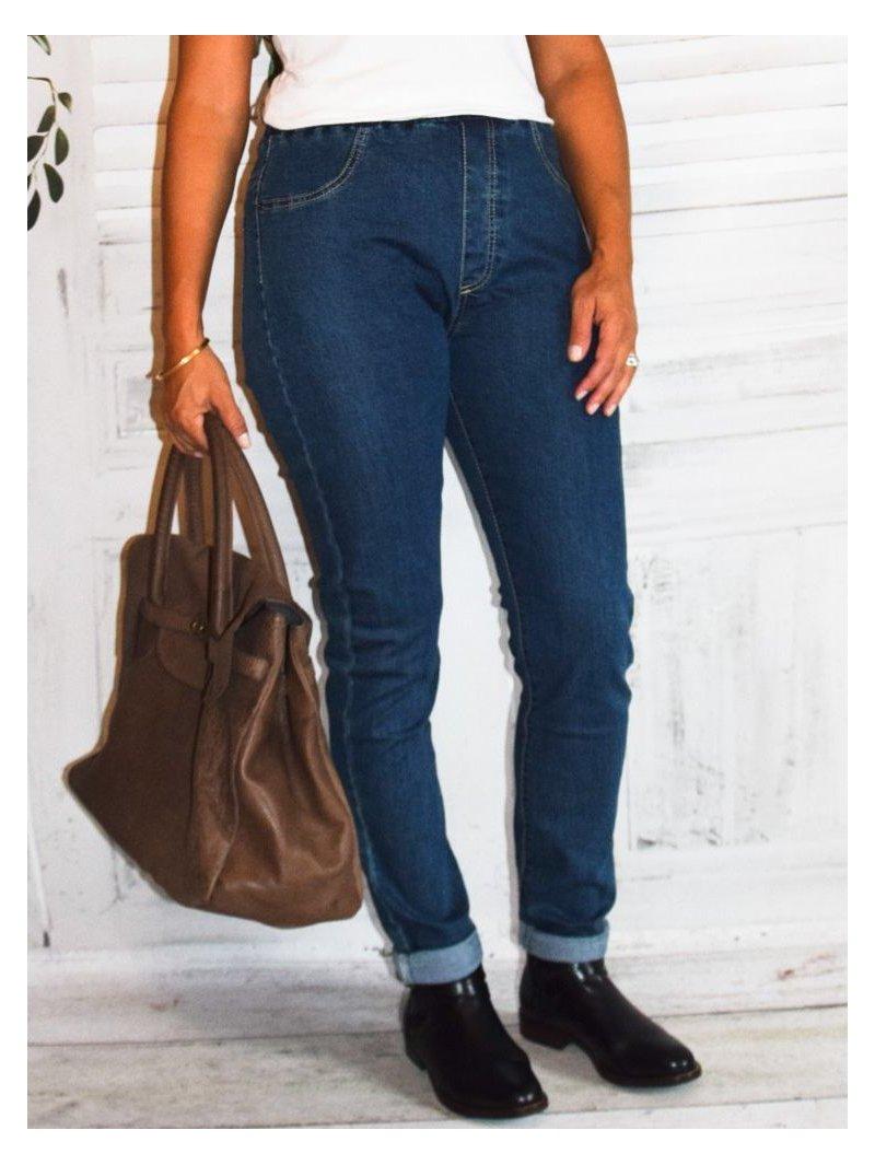Jegging jean grande taille, marque Nana Belle face