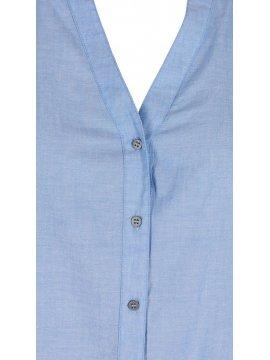 Vanina, chemise grande taille, marque Zizzi zoom col