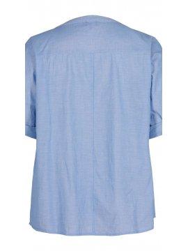 Vanina, chemise grande taille, marque Zizzi zoom dos