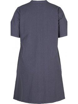 Johanna, robe grande taille, marque Zizzi - Bleu