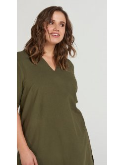 Johanna, robe grande taille, marque Zizzi