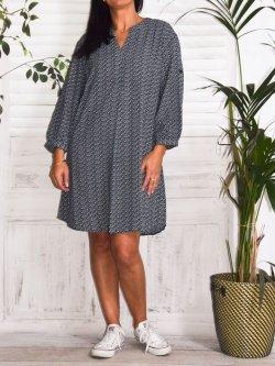 Lilou, un amour de robe, marque Christy - Marine