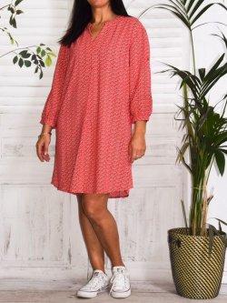 Lilou, un amour de robe, marque Christy - rouge