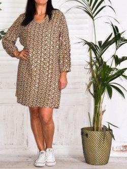 Sarah, robe grande taille Kalimbaka
