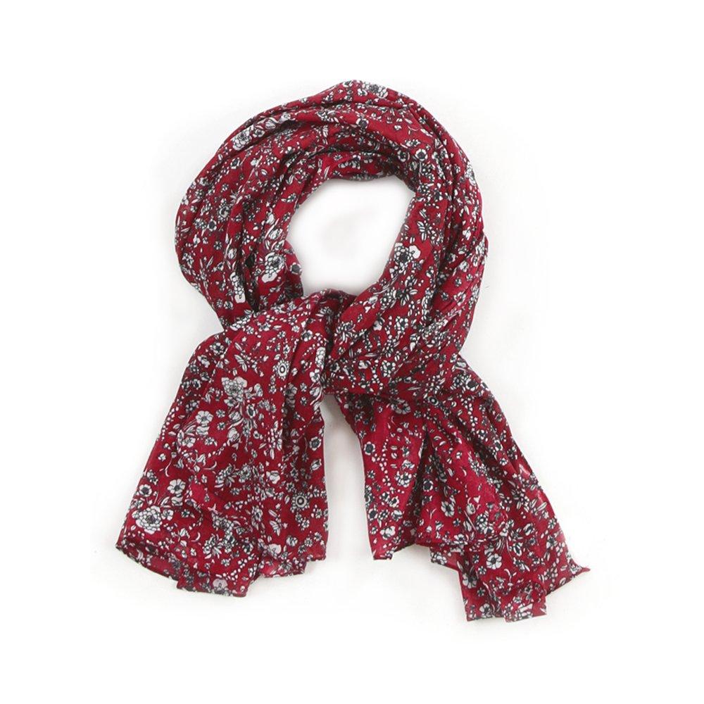 foulard imprimé fleuri romantique Cowo pour Kalimbaka