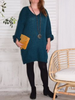Robe pull grande taille Douceur
