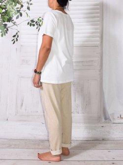 Berlin, pantalon sportswear,  Lagenlook - beige