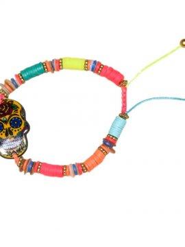 bracelet skull bohème