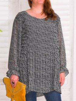 tunique plissé