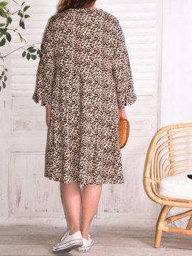 Robe Alison jungle, marque Christy 5