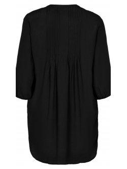 Kirsten, robe grande taille, marque Gozzip - noir