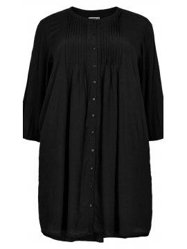 Kirsten, robe grande taille, marque Gozzip noir face