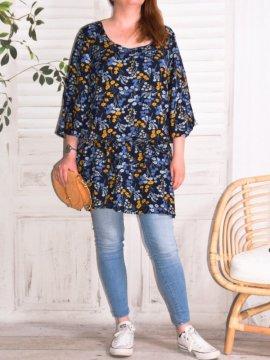 Lola, robe fleurie, marque Zizzi 486