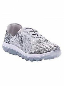 Chaussures Gummies Victoria silver grey clear marque Bernie Mev profil