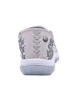 Chaussures Gummies Victoria silver grey clear marque Bernie Mev dos