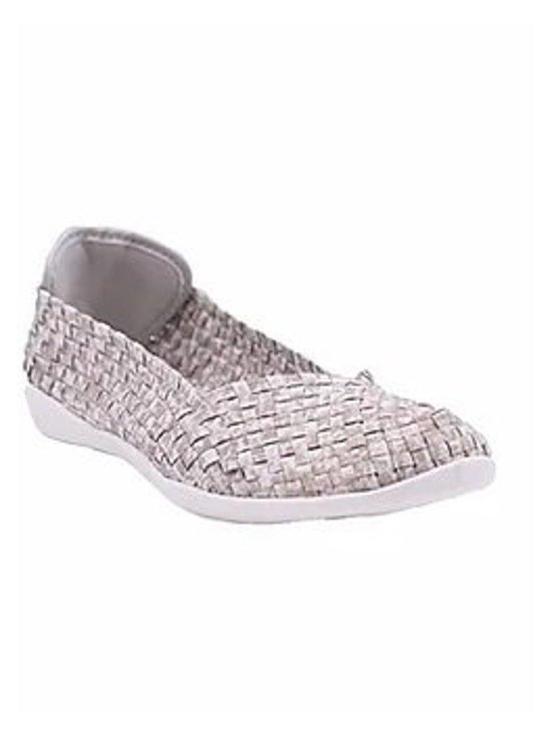 Chaussures Catwalk Sand Shimmer Cream marque Bernie Mev profil