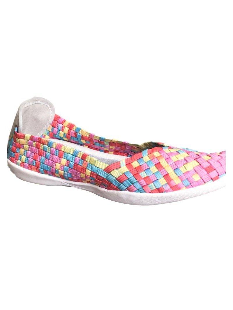 Chaussures Catwalk Candy Cambo Cream marque Bernie Mev profil