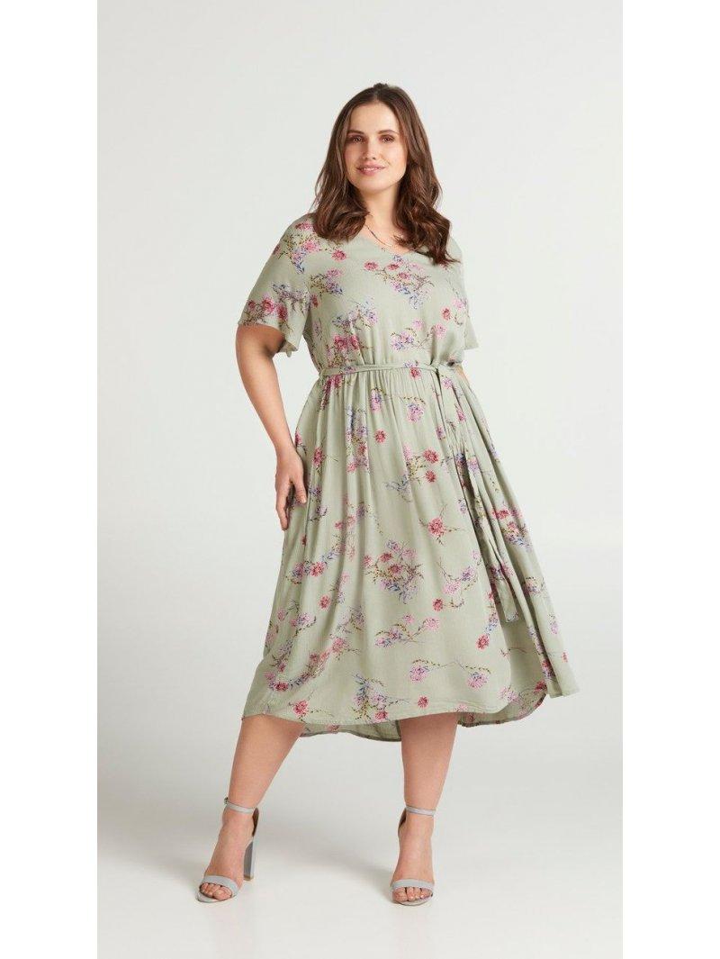 robe imprimée grande taille Zizzi