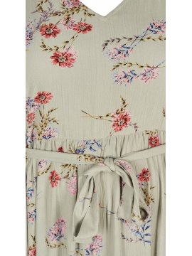 Aster, robe fleurie grande taille, Zizzi zoom face