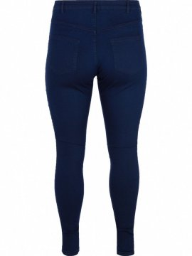 Jean slim Amy, dark blue, marque Zizzi dos