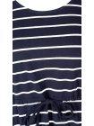 Maryse, robe rayée marine, grande taille, Zizzi bleu lien zoom