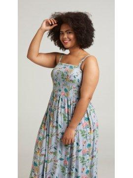 Marina, robe longue, grande taille, marque Zizzi coté