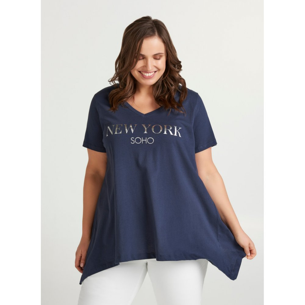 T shirt New York grande taille Zizzi