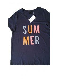 T-shirt Summer, grande taille, marque  Zizzi