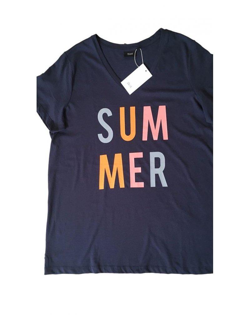 T-shirt Summer, grande taille, marque Zizzi zoom