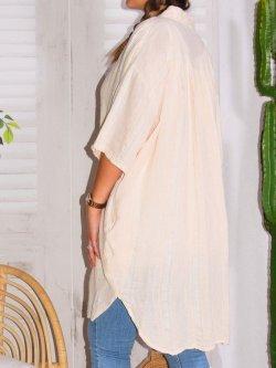 Jaipur, chemise lin tissé, JS Millenium