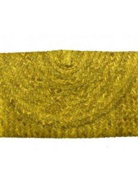 pochette bohème fibre naturelle et coquillages