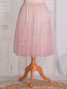 Lara, jupon en tulle rose 5