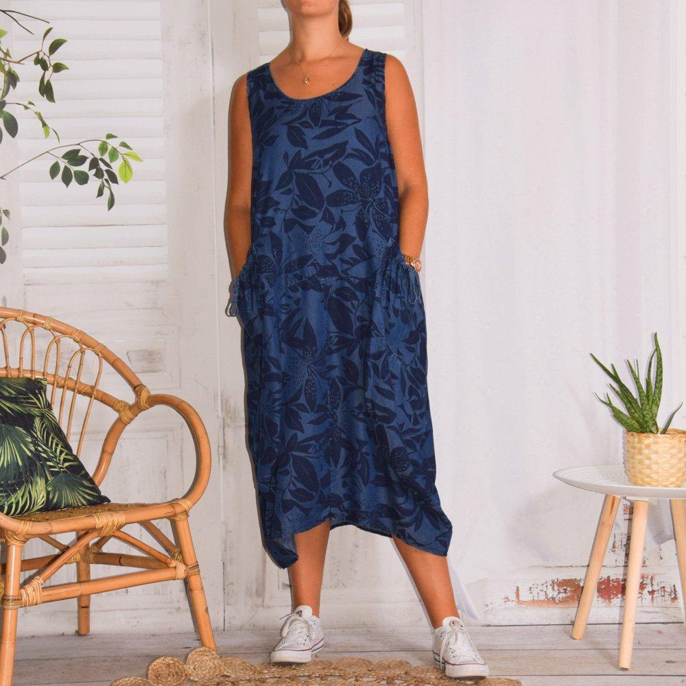robe grande taille jean