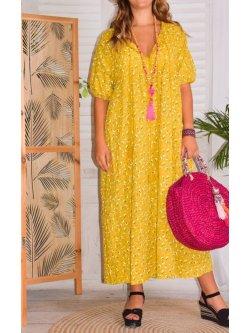 Romy, longue robe bohème