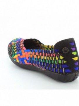 Chaussures Catwalk multi black marque Bernie Mev dos